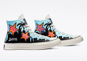 Converse Chuck Taylor All-Star 70s Hi Chinatown Market NBA Los Angeles Lakers