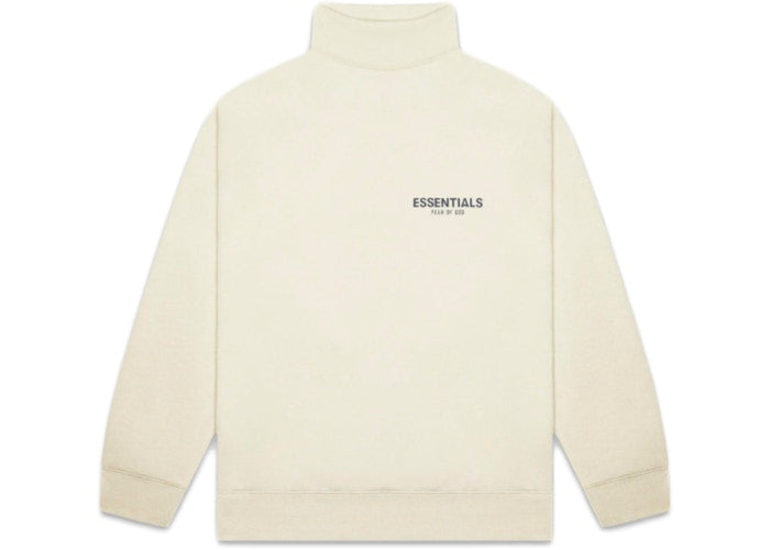 FEAR OF GOD ESSENTIALS Pull-over Mockneck Sweatshirt Buttercream