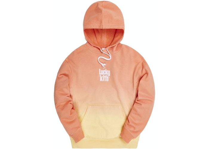 Kith for Lucky Charms Dip Dye Williams III Hoodie Orange/Yellow