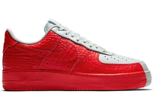 Nike Air Force 1 Low Split Grey Red