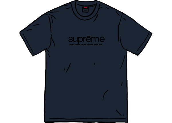 Supreme Five Boroughs Tee Navy