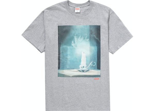 Supreme Fuck Tee Heather Grey