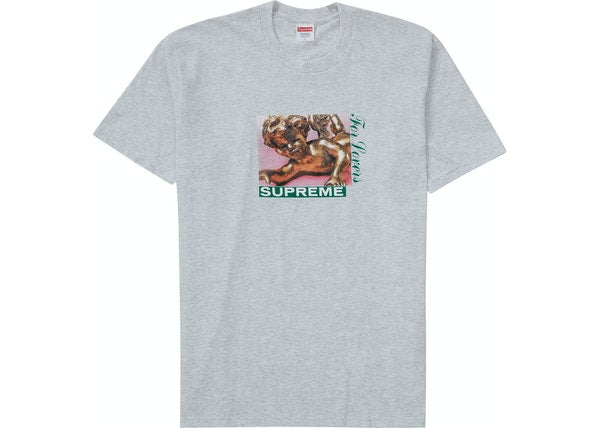 Supreme Lovers Tee Ash Grey