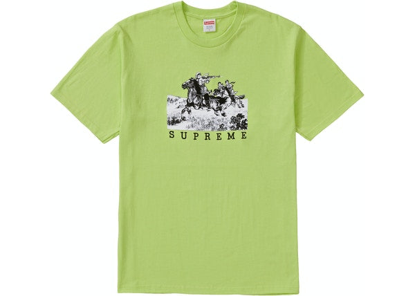 Supreme Riders Tee Neon Green
