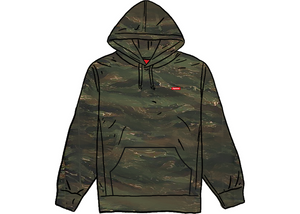Supreme Small Box Hooded Sweatshirt Tigerstripe Camo