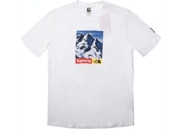 Supreme The North Face Mountain Tee White