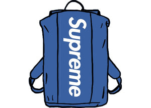 Supreme Waterproof Reflective Speckled Backpack Royal