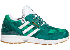adidas ZX 8000 Bape Undefeated Green