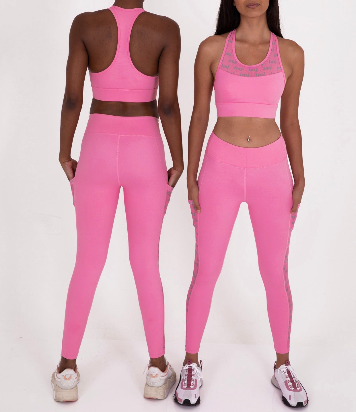 ROOKIE LEGGINGS - PASTEL PINK