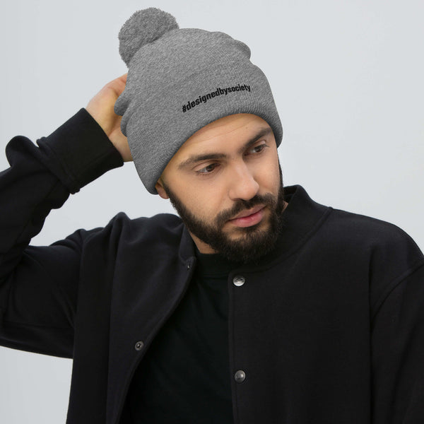 Designed By Society Pom-Pom Beanie