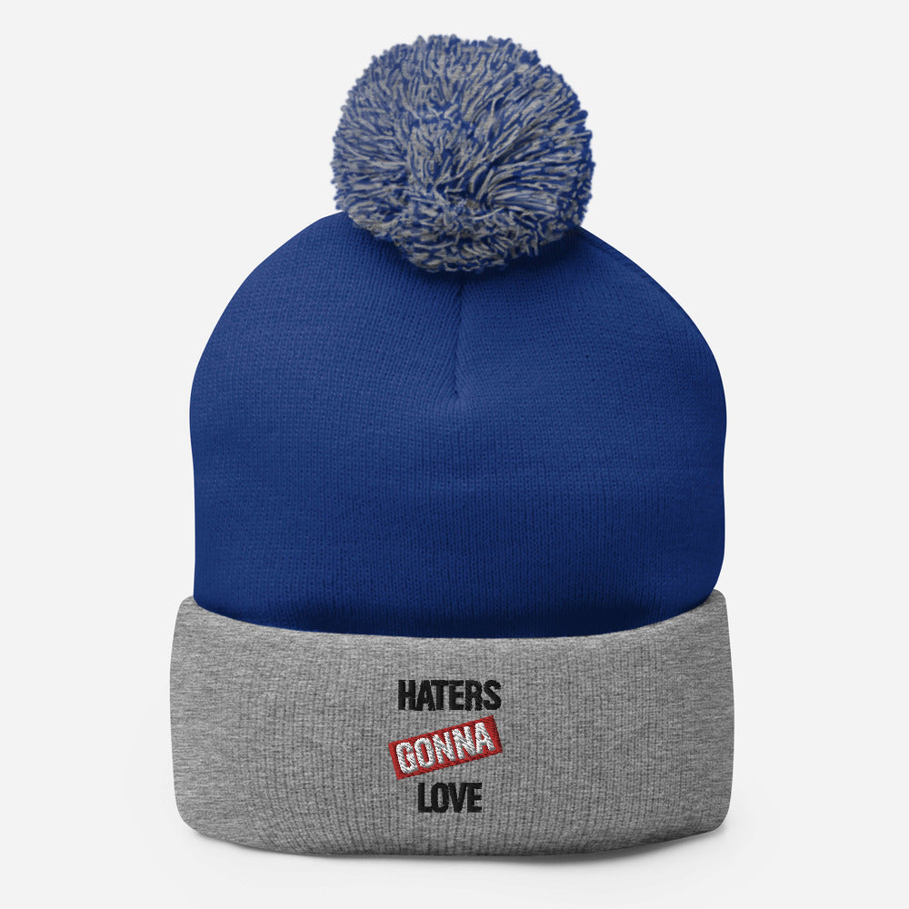 Haters Gonna Love Coloured Beanie