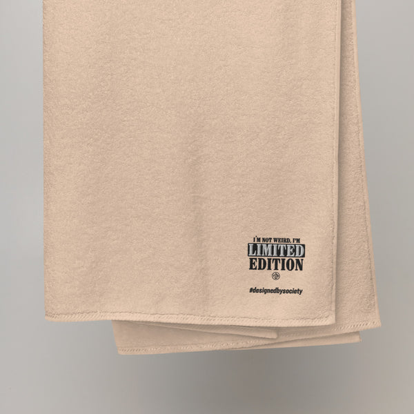 Limited Edition Body Turkish cotton towel