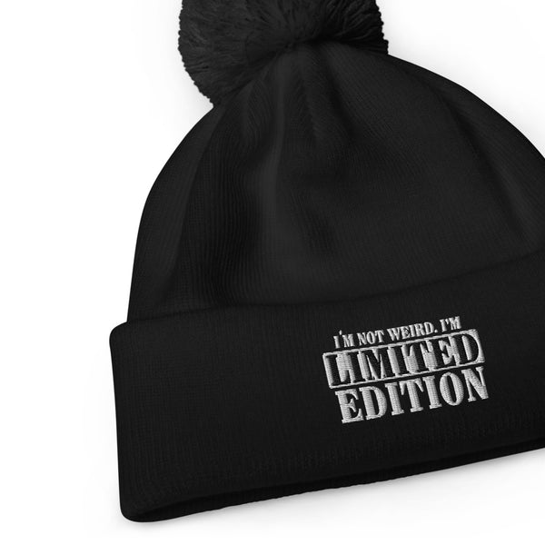 Limited Edition Pom-Pom Beanie