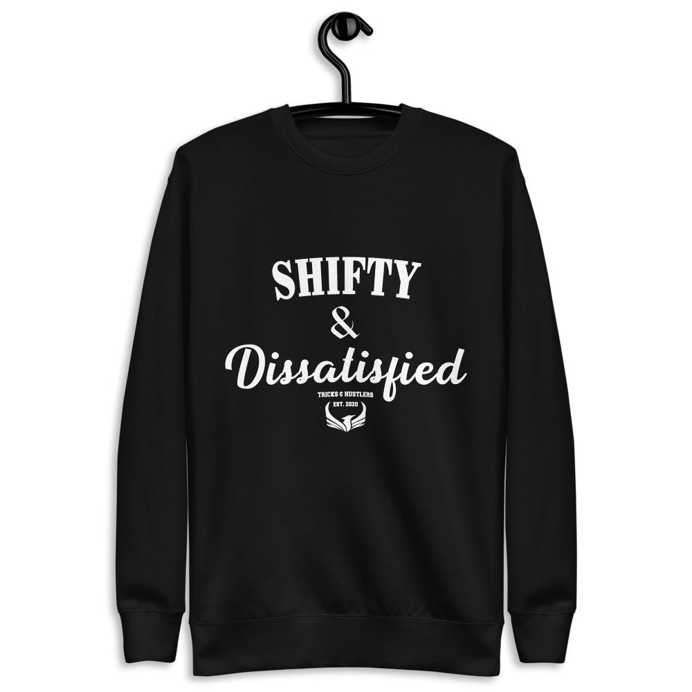 Shifty & Dissatisfied Fleece Pullover