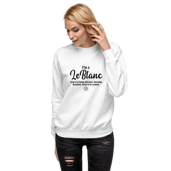LeBlanc Fleece Pullover