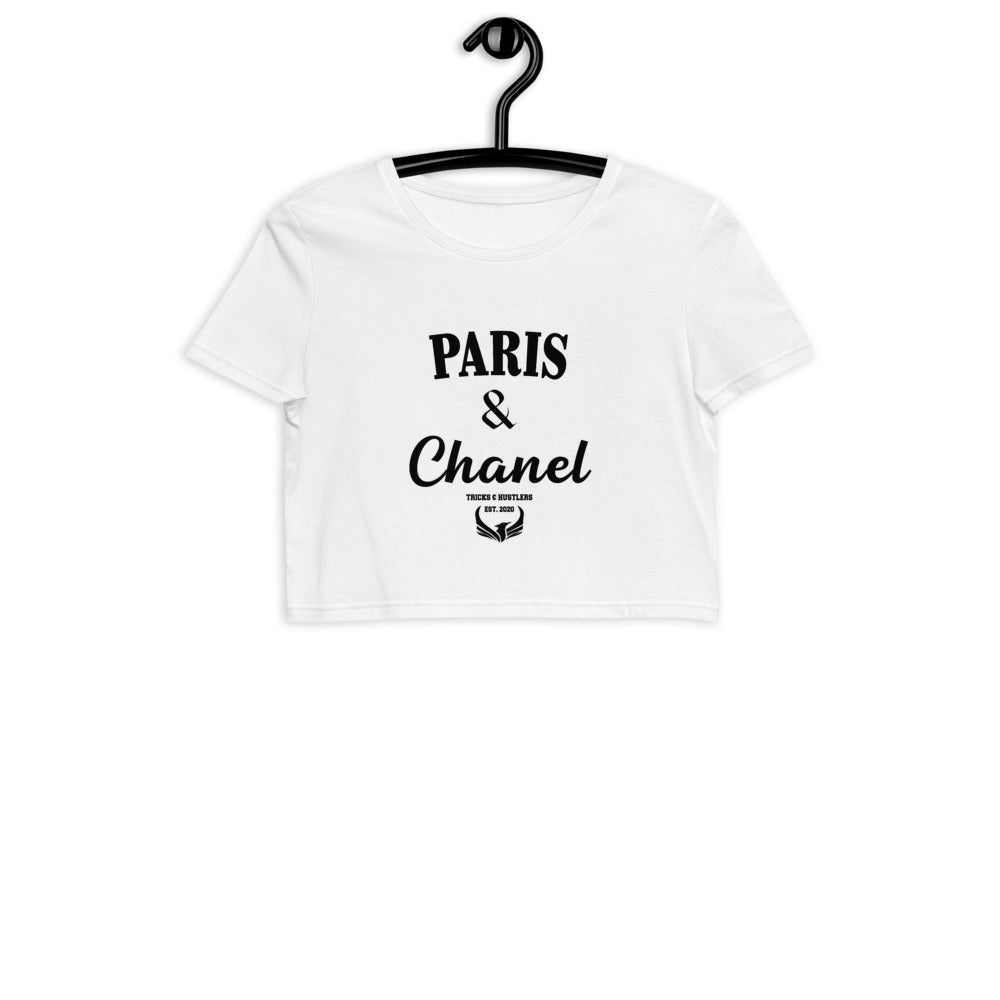 Paris & Chanel Crop Top