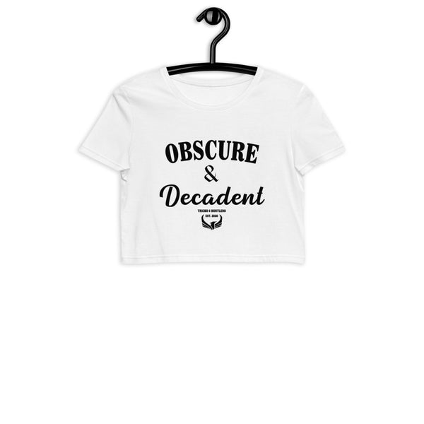 Obscure & Decadent Crop Top