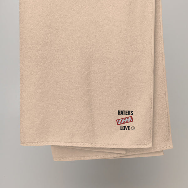 Haters Body Turkish cotton towel