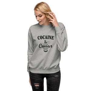Cocaine & Caviar Fleece Pullover