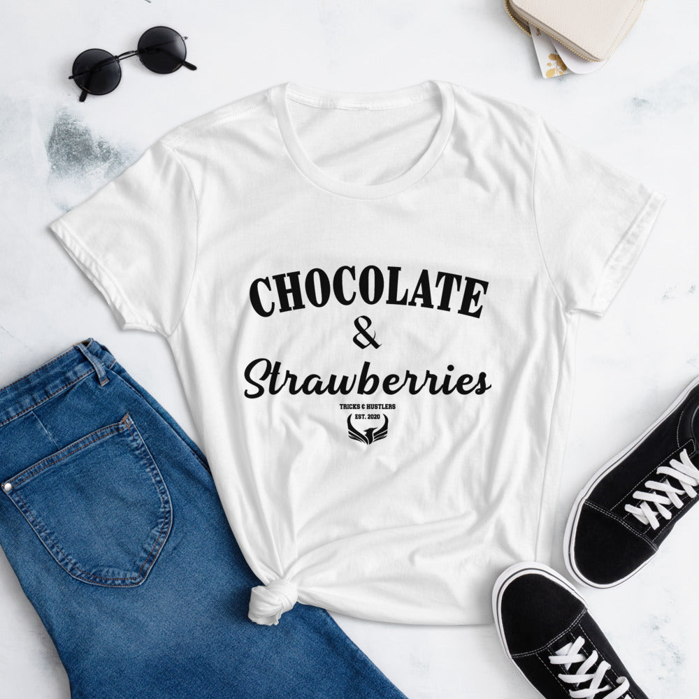 Chocolate & Strawberries Tee