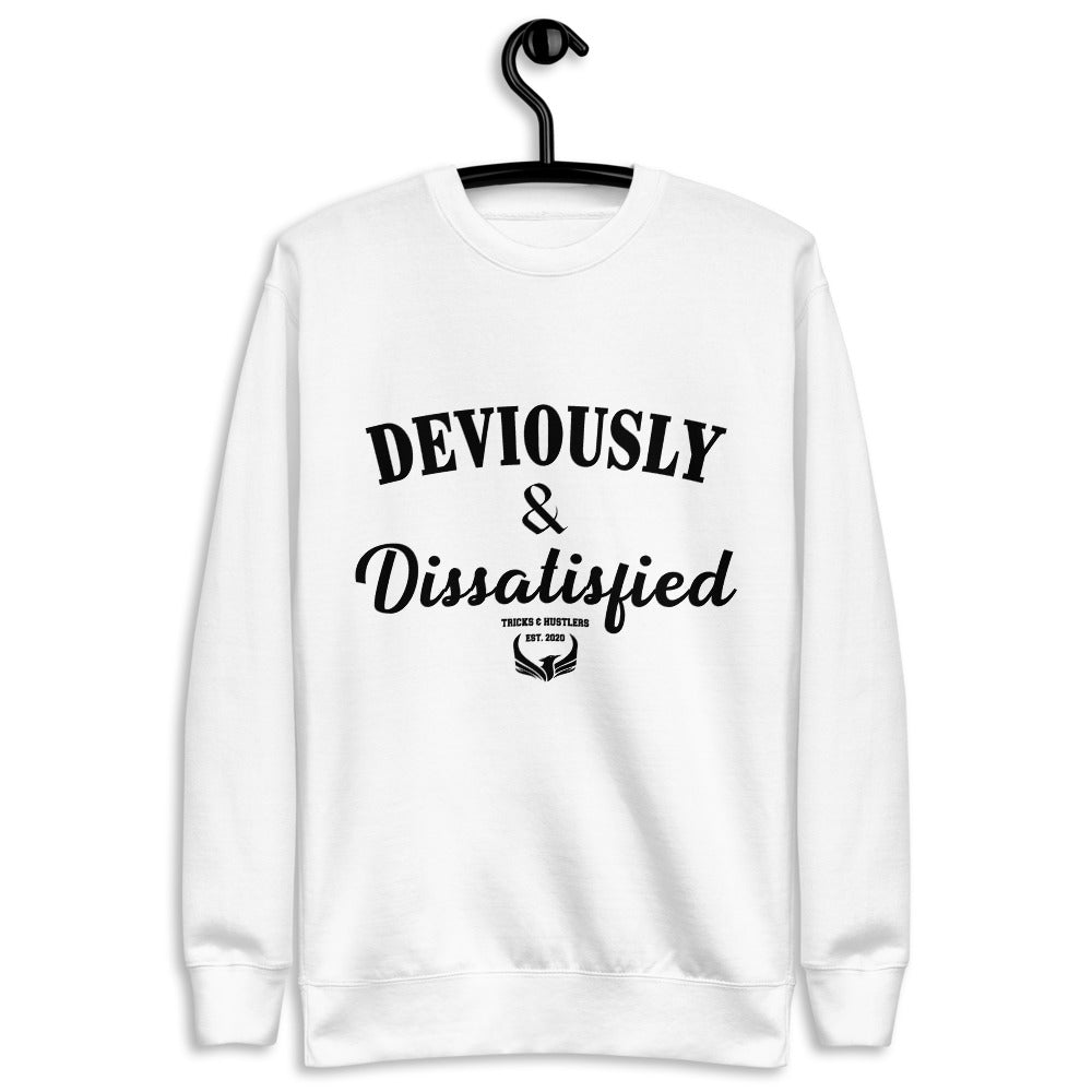 Deviously & Dissatisfied Fleece Pullover