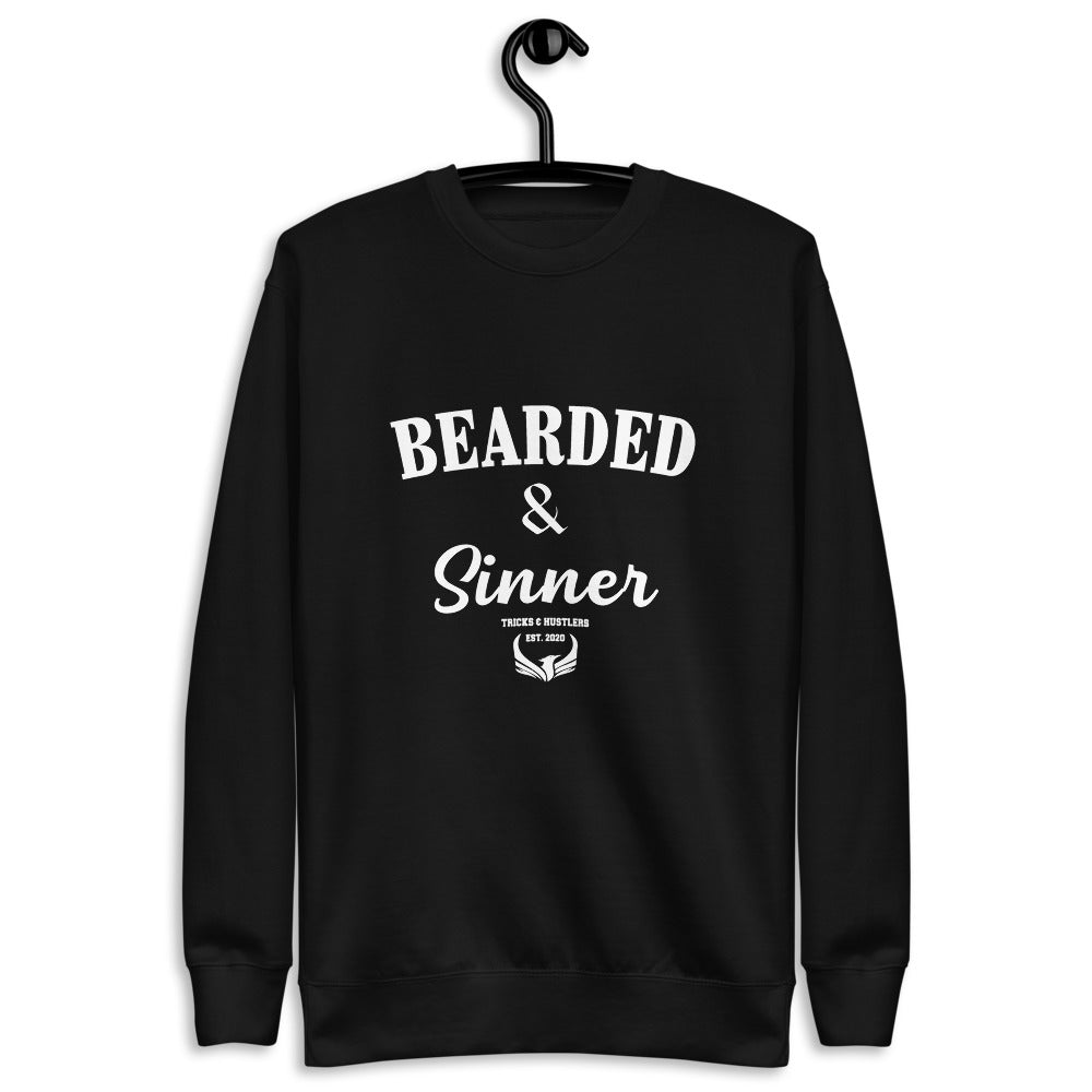 Bearded & Sinner Fleece Pullover