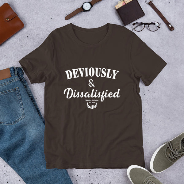 Deviously & Dissatisfied Premium T-Shirt