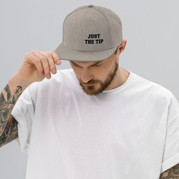 Just The Tip Snapback Hat