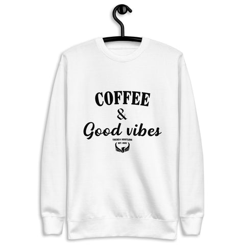 Coffee & Good Vibes Fleece Pullover