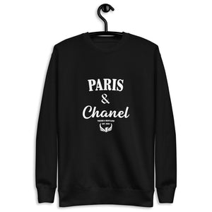 Paris & Chanel Fleece Pullover
