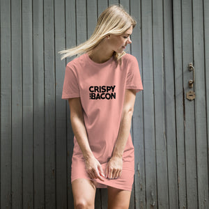 Crispy Like Bacon T-Shirt Dress