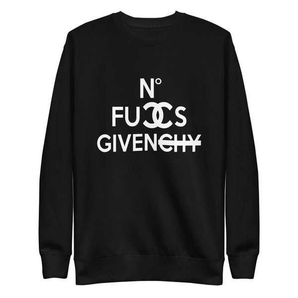 No Fuccs Given Fleece Pullover