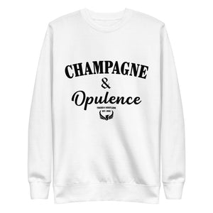Champagne & Opulence Fleece Pullover