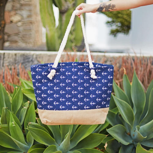 anchor blue bag hula beach