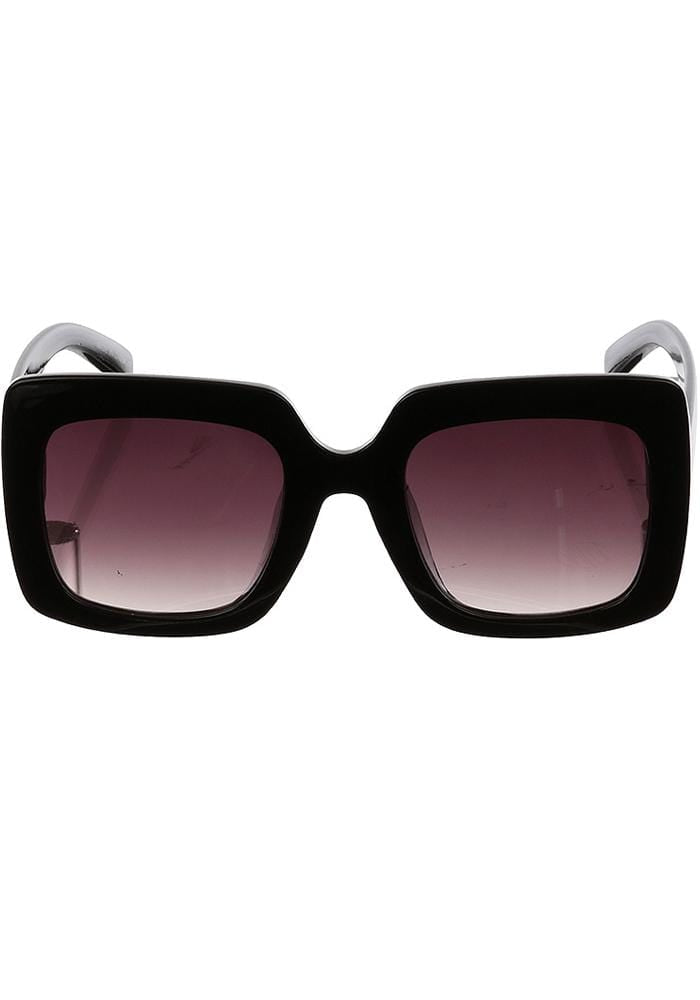 Square black sunglasses Hula Beach