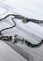 Anchor Wax Cord Anklet