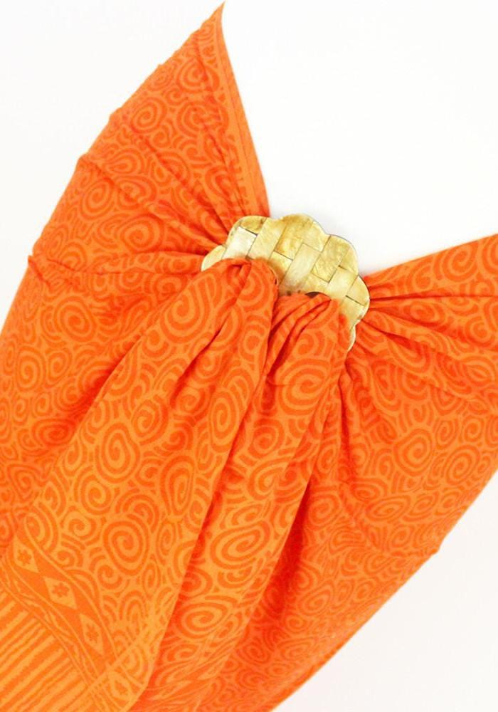 Flower Shell Sarong Tie