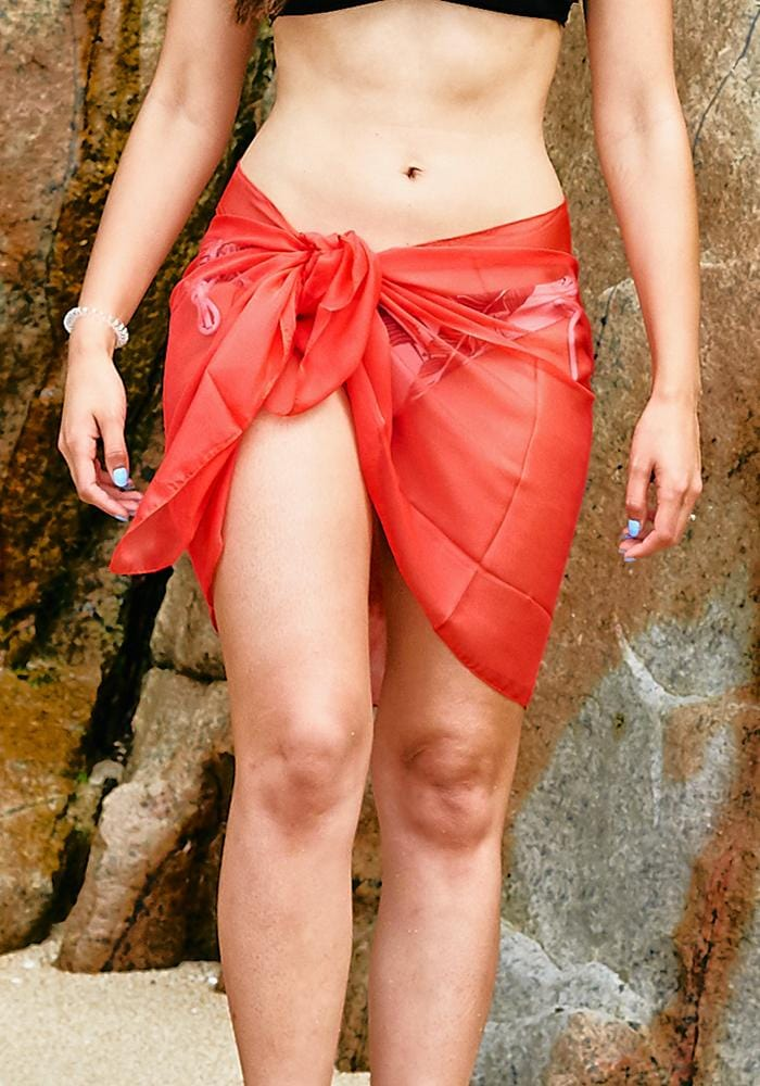 candy-red-chiffon-half-sarong-hula-beach