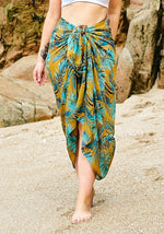 mustard-0yellow-tropical-palm-print-full-length-sarong-hula-beach