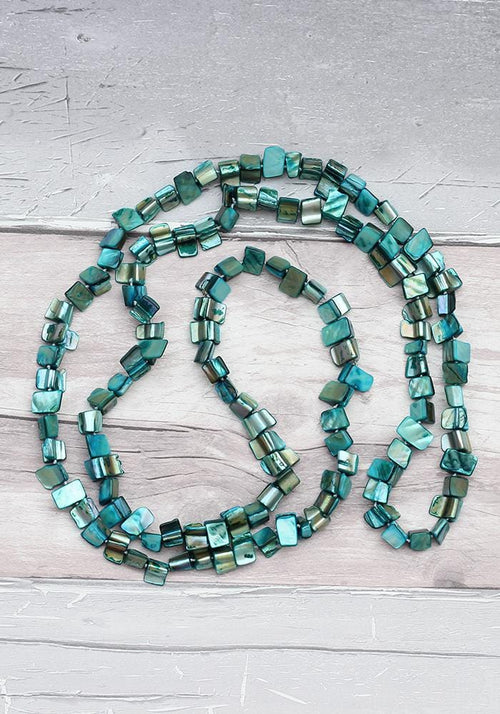 blue lagoon shell necklace hula beach