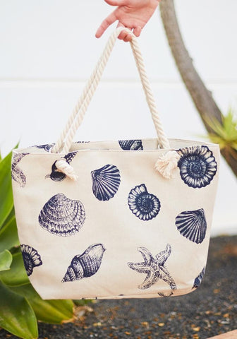 Tribal Stripe Beach Bag