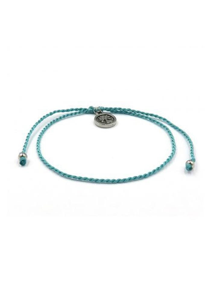 Turquoise blue twist bracelet Pineapple Island Hula Beach