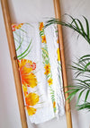 Yellow Hibiscus Hawaiian Sarong