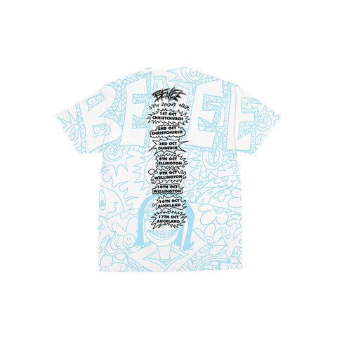 BENEE ALL OVER PRINT T-SHIRT