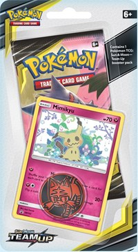 Team Up Booster Pack *Mimikyu* Promo
