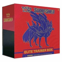 Sword and Shield Base Set Elite Trainer Box *Zacian*