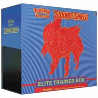 Sword and Shield Base Set Elite Trainer Box *Zamazenta*