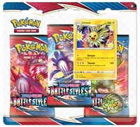 Battle Styles Jolteon Triple Pack