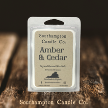Load image into Gallery viewer, 'Amber & Cedar' Wax Melt