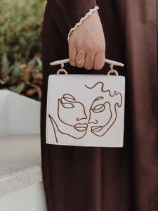 Cream Twin Souls Bag